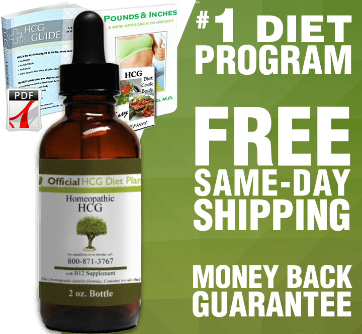 21 Day (2oz) Official HCG Diet Drops Program