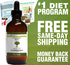 45 Day (4oz) Official HCG Diet Drops Program