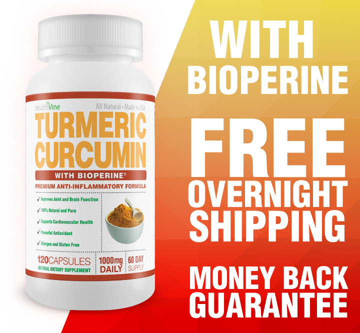 Turmeric Curcumin 60-Day Supply