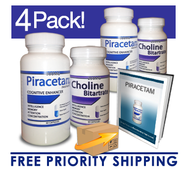 Piracetam & Choline (60 Day Supply)