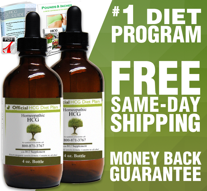 90 Day (2x4oz) Official HCG Diet Drops Program