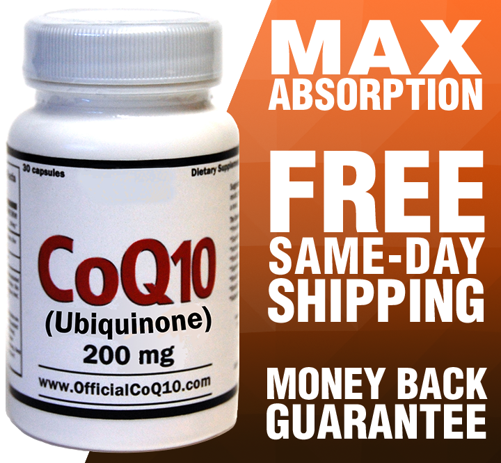 Ubiquinone CoQ10: 200mg (30-Day)
