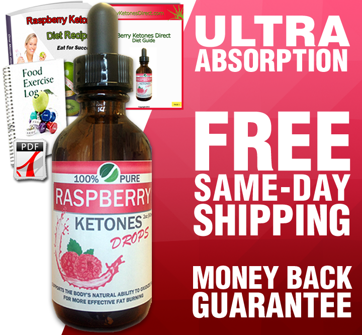 Pure Raspberry Ketones Liquid Drops (30 Day Supply)