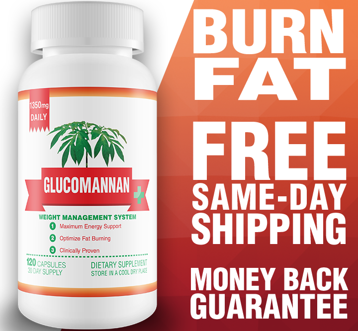 Glucomannan 30-Day Supply