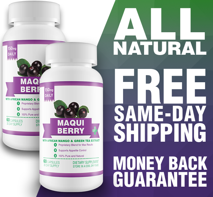Maqui Berry 60-Day Supply