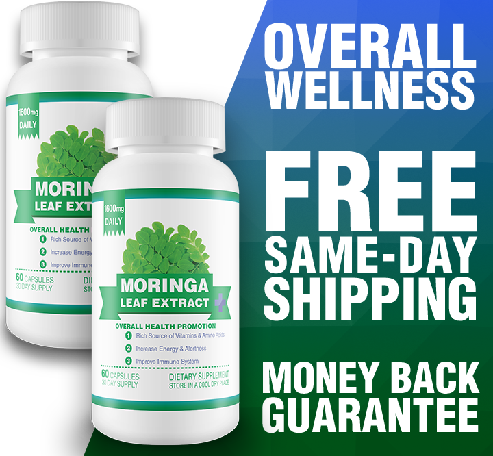 Moringa Leaf Extract 60-Day Supply